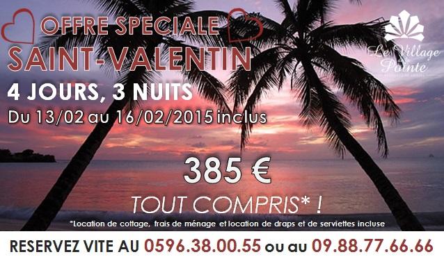 Promo Saint-Valentin 2015