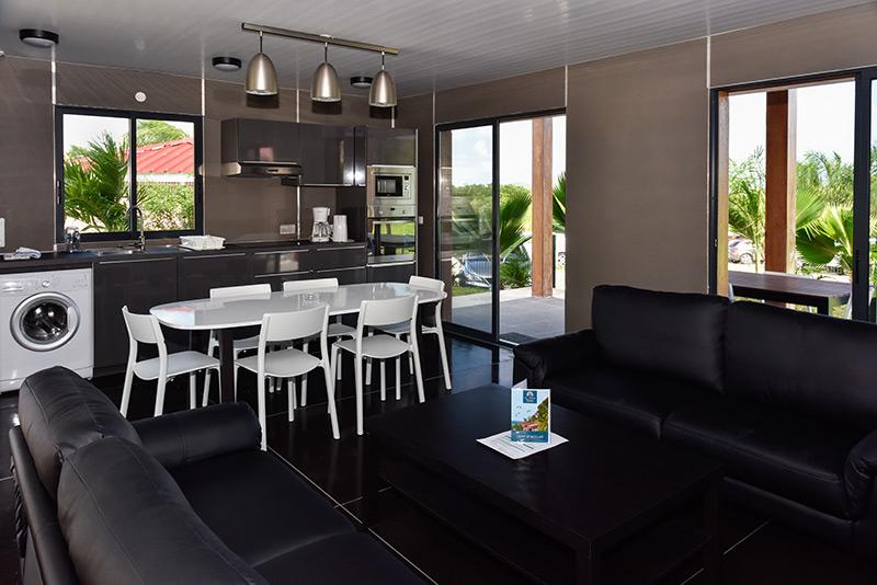 salon-cuisine-martinique-location-villa-vacances